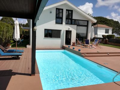 Photo for Torreira: House with garden and swiming pool
