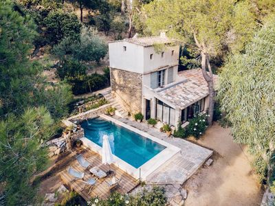 Photo for AUTHENTIC BASTIDON PROVENCAL WITH SWIMMING POOL, RAMATUELLE