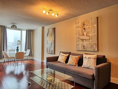 Photo for Amazing view! Old port luxury one bedroom,king bed