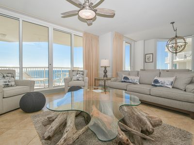 Photo for BEACHFRONT condo w/EXPANSIVE PRIVATE BALCONY! Most SOUGHT AFTER vacation rental!