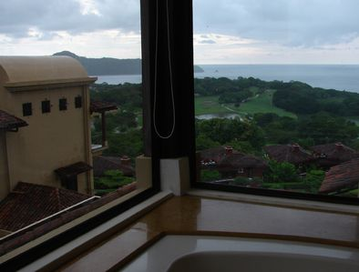 View of Pacific Ocean from Spa Tub