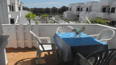 Photo for Cheap House with climate, at the Sea in private complex for Families in Ostuni