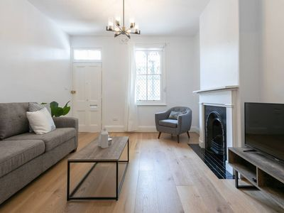 Photo for NEW REFIT FOR 2019: Modern Victorian Terrace Sydney 4 Bedrooms for Large Groups