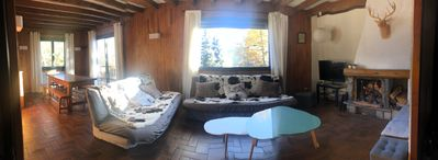 Photo for Spacious apartment in chalet