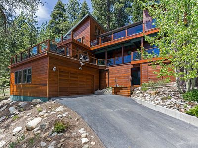 Photo for RARE North Tahoe Estate | You'll ♥ the Lake View/Hot Tub/Beds | Incline Village