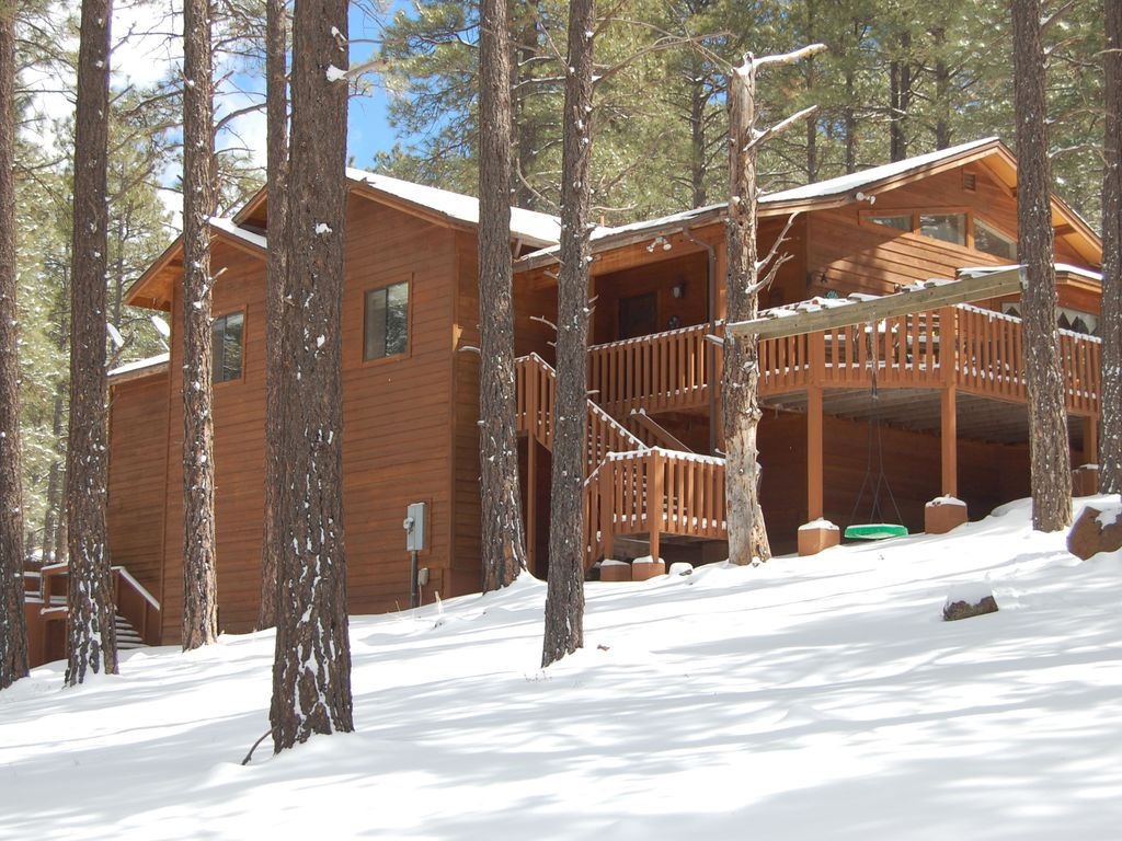 flagstaff pines cabin in mountain arizona lodging and the rentals cabins inn