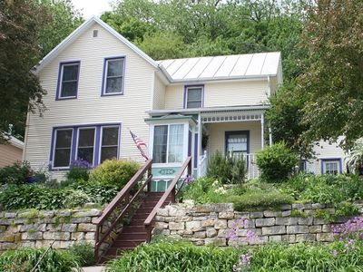Photo for Charming village Victorian Cottage. $75 per night, $350 per week.