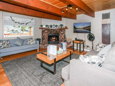 Photo for Five Pines - Modern Cabin with WiFi, Satellite TV, and Hot Tub! FREE 2 hour Bike/Kayak Rental!
