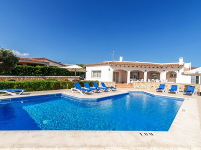 Photo for Spacious villa with pool and sea view - Villa Arena Blanca