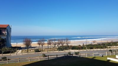 "Photo for Flat for 5 people with ocean view in residence ""Côte basque""."
