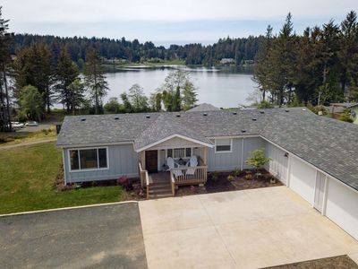 Photo for Updated Pet Friendly Lake Retreat w/ Lake Views, Short Walk to Siltcoos Lake, Outdoor Patio w/ Grill