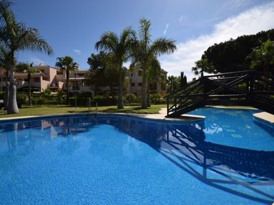 Photo for 3 bedroom Apartment, sleeps 8 in Nueva Andalucia with Pool and Air Con