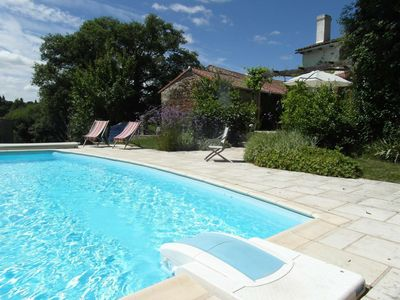 Photo for Newly-renovated countryside gite, shared use of swimming pool and games room