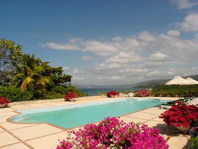Photo for Longview Manor on Round Hill - Ideal for Couples and Families, Beautiful Pool and Beach