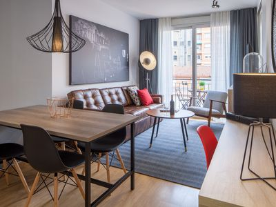 Photo for New and bright apartment near Sagrada Familia