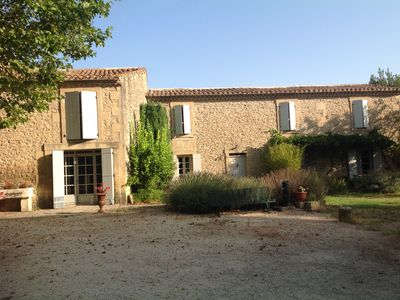 Photo for Authentic Mas Provencal 19th century classified 4 * in a 5000 m² fenced park
