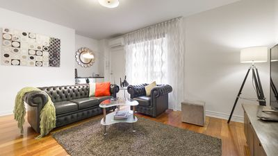 Photo for StayCentral in Brunswick & Parkville 2Br near cafes restaurants shops bars trams