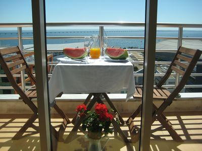 Photo for Haven in Lisbon. Luxury. Balcony. Waterfront. Airport. Metro.Restaurants.Grocery