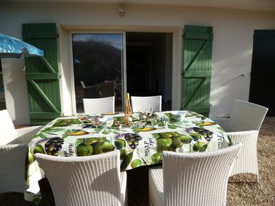 Photo for New apartment 50 m2 on garden 5min from Grasse, Near Cannes, 30min Nice