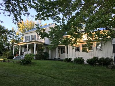 Photo for Hillandale Farmhouse circa 1774 - 6 bedrooms, sleeps 14, newly renovated
