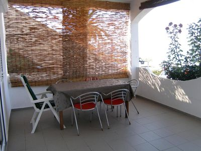 Photo for Two bedroom apartment near beach Mandre, Pag (A-4093-a)