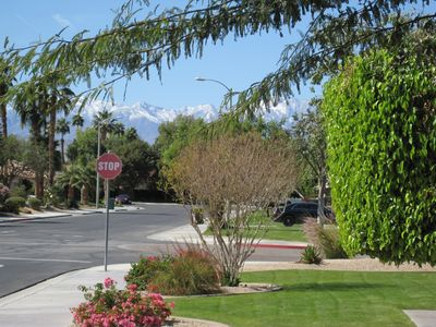 Mt. San Jacinto from the front yard