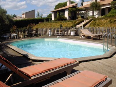 Photo for CHARMING GITE - pinede, private pool - near NARBONNE aude -
