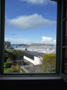 Photo for Duplex apartment with sea view on Saint-Malo and garage