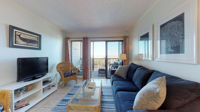 Photo for Gorgeous Oceanfront Condo with Pool - Yacht Club~Island Beach and Racquet Club