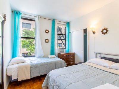 Photo for Fabulous two bed apt in Hells Kitchen, Midtown West