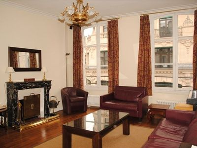 Photo for Luxurious and Spacious Apartment Next to the Louvre