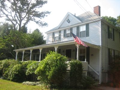 Photo for Classic Cape Cod Beach House in charming Megansett section of Falmouth