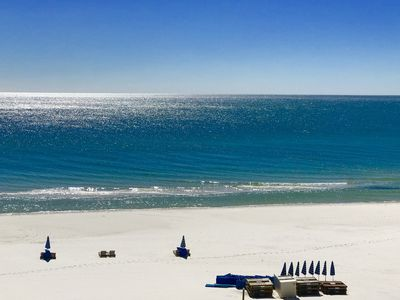 Book April 19th - 22  Gulf Front & Gorgeous, Heated Pool!