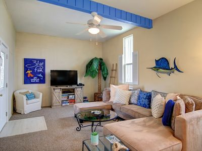 Photo for 3BR/2BA Fun, Funky Beach House, Close to Beach, Open Concept Kitchen/Living
