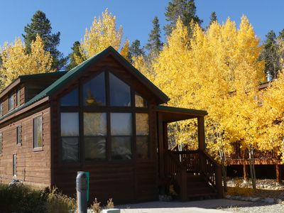 Photo for Aspen Grove Retreat - Cozy Fairplay Cabin - 30 mins to Breckenridge