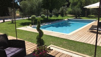 Photo for Comfortable villa with private pool ideally located in the heart of Provence