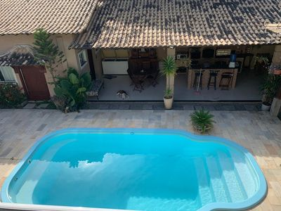 Photo for House with pool - RIO DAS OSTRAS- 3 suites and gourmet area