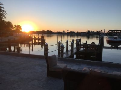 Photo for Private luxury waterfront living. Short walk to the beach. Boat Dock, Kayaks.