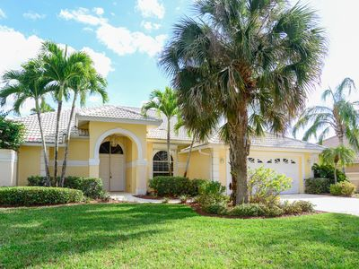 Photo for Florida home near golfing surrounded by ponds & foliage - snowbirds welcome!