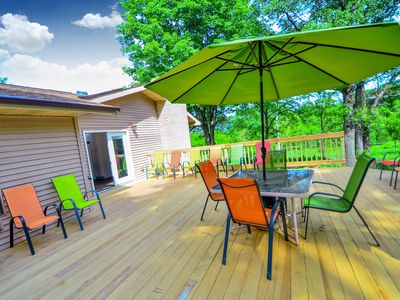 Photo for *NEW LISTING | Bigfoot Bungalow @ DellsVacay | Spacious 5BR | Mins to Wis Dells