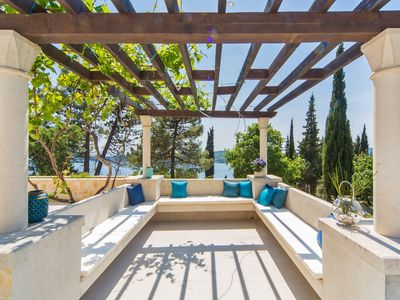 Photo for Amazing 7 bedroom villa for 14 people with the most beautiful sea views