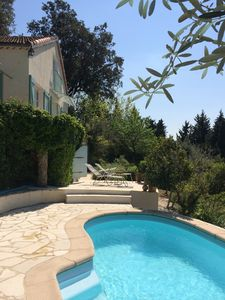 Photo for Charming villa in Claviers with private pool and astonishing view