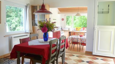 Photo for Charming house with garden at 100 m from the sea, 4 people. Wetting.