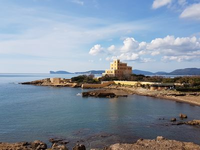 Photo for Alghero near the sea: gorgeous apartment