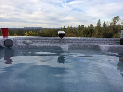 Photo for Estate with Grand Views On the Fairplay Wine Trail - 11' Luxury Spa & Bocce Ball