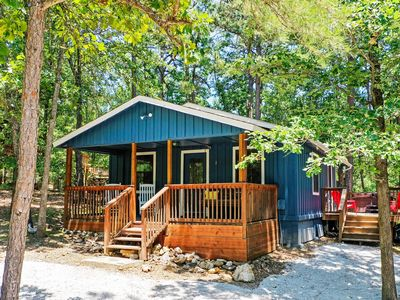 Photo for NEW! 'Paddles Up' Broken Bow Getaway w/ Hot Tub!