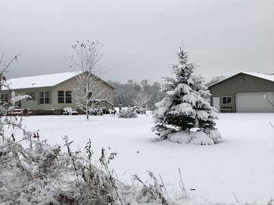 Photo for Cozy Northwoods Home in a Beautiful Setting! Head north and get away!