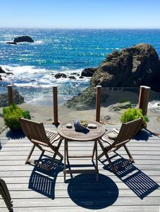 Bon Surfscape Beach House, Bodega Bay, Crashing Surf, Private Stairs,Secluded  Beach   Sereno Del Mar