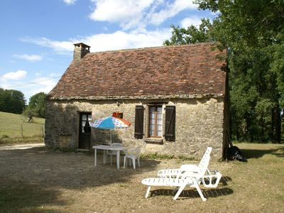 Photo for Charming house with magnificent view over beautiful nature in Berbiguières (2 km)