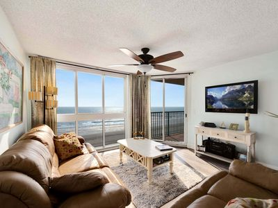 Photo for NOW AVAILABLE August 22-29 $995 Pinnacle 502 Direct Oceanfront 3Bed 2Bath Condo